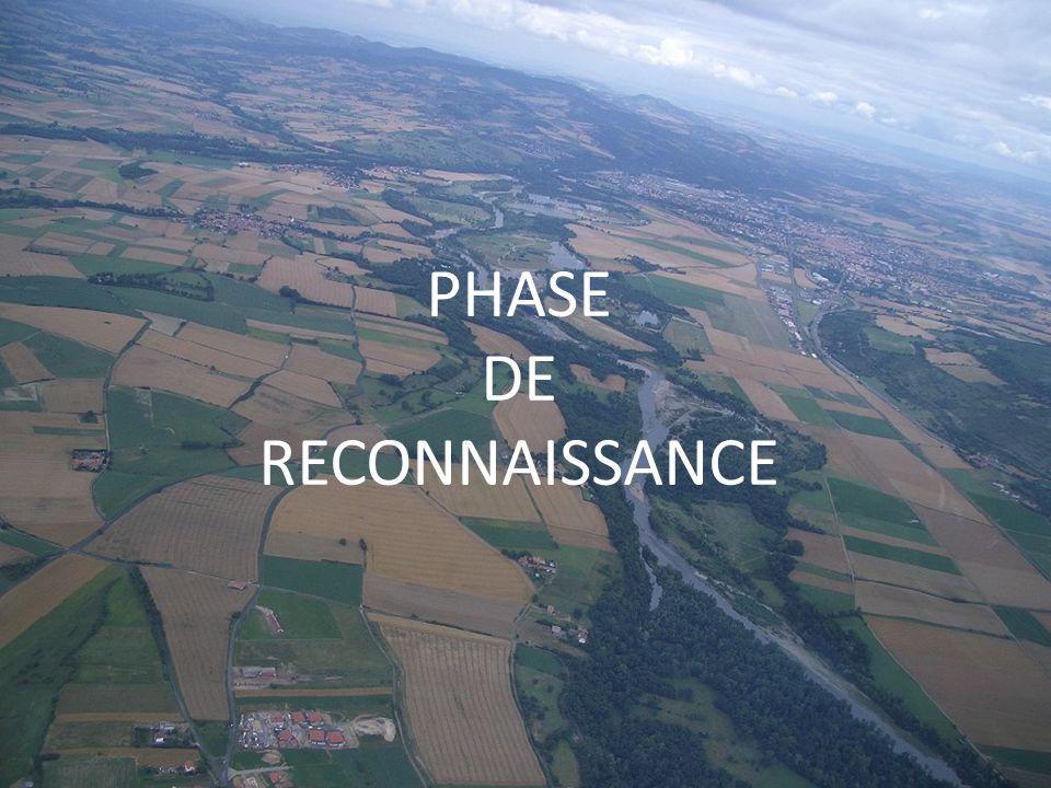 La phase de reconnaissance Saisons propices Privilégier champs à cultures basses