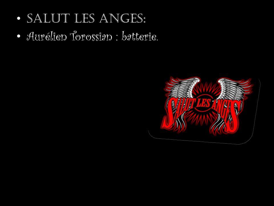 Salut les anges !!!