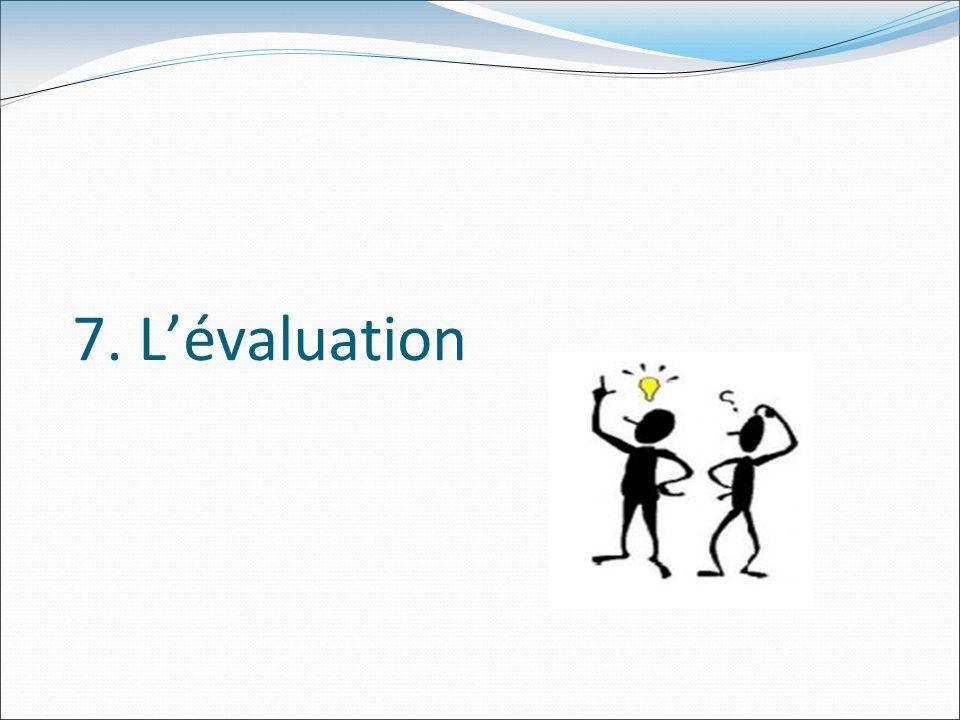 7. Lévaluation