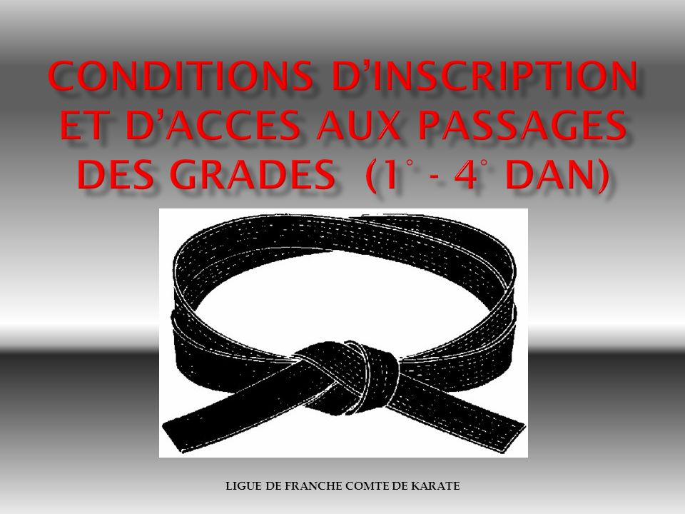 LIGUE DE FRANCHE COMTE DE KARATE