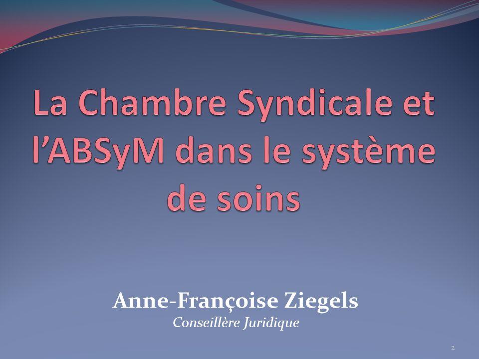 Henri Anrys Secrétaire Général de la Chambre Syndicale des Médecins des Provinces du Hainaut et de Namur et du Brabant Wallon depuis 1987.