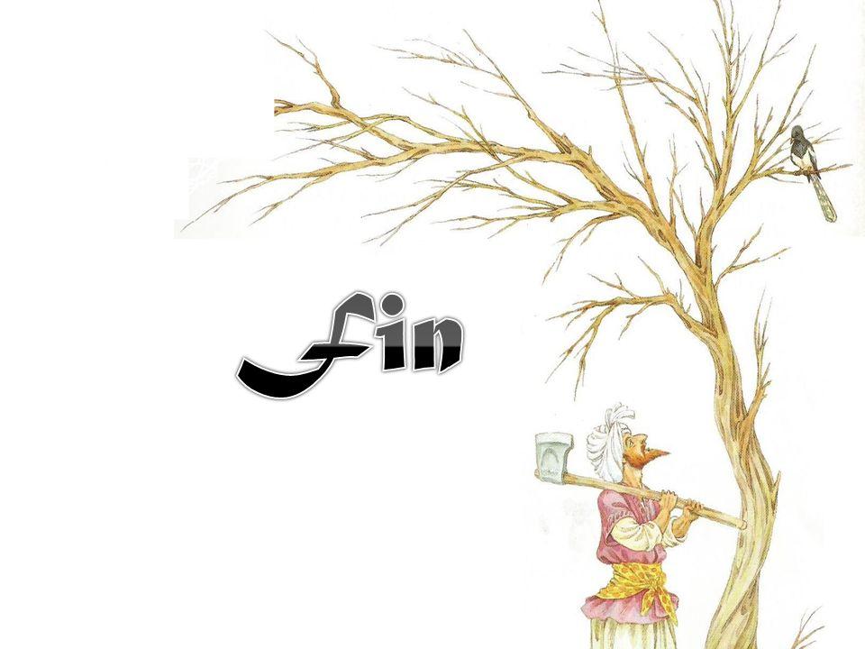 Pour remercier sa servante fidèle, Ali Baba la marie avec son fils et leur offre une grande part de sa fortune.
