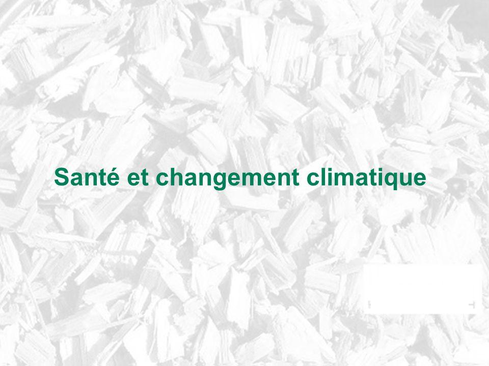Santé et changement climatique
