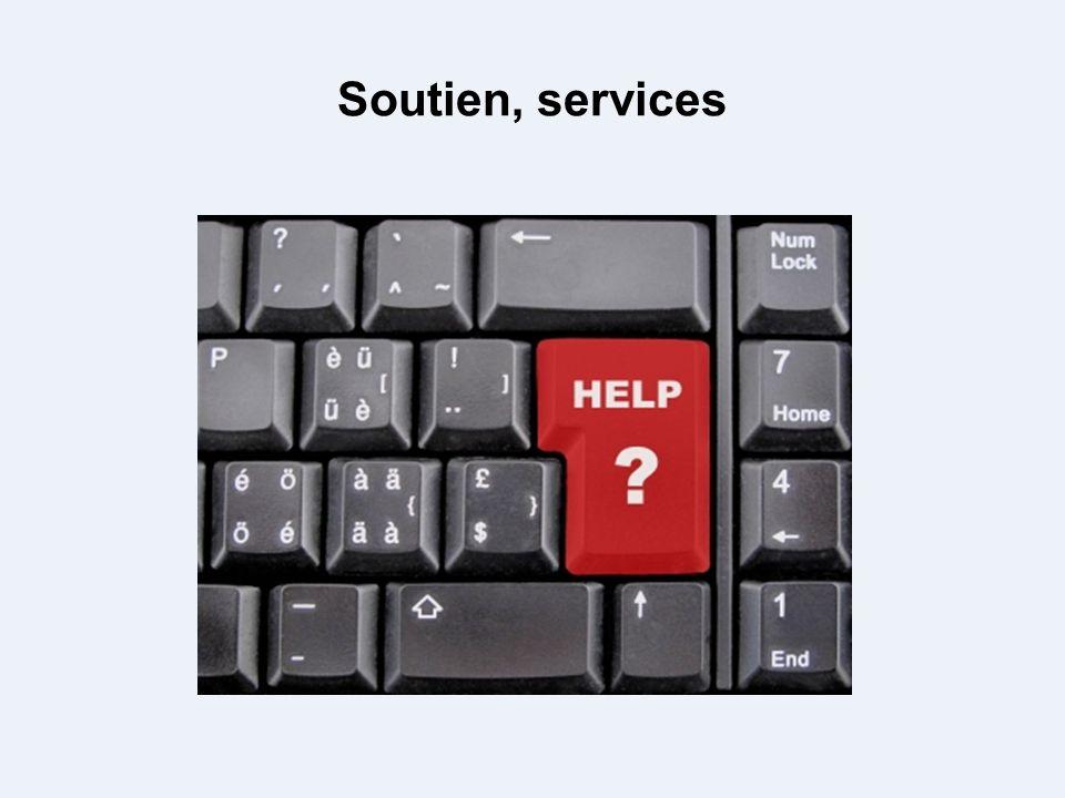 Soutien, services