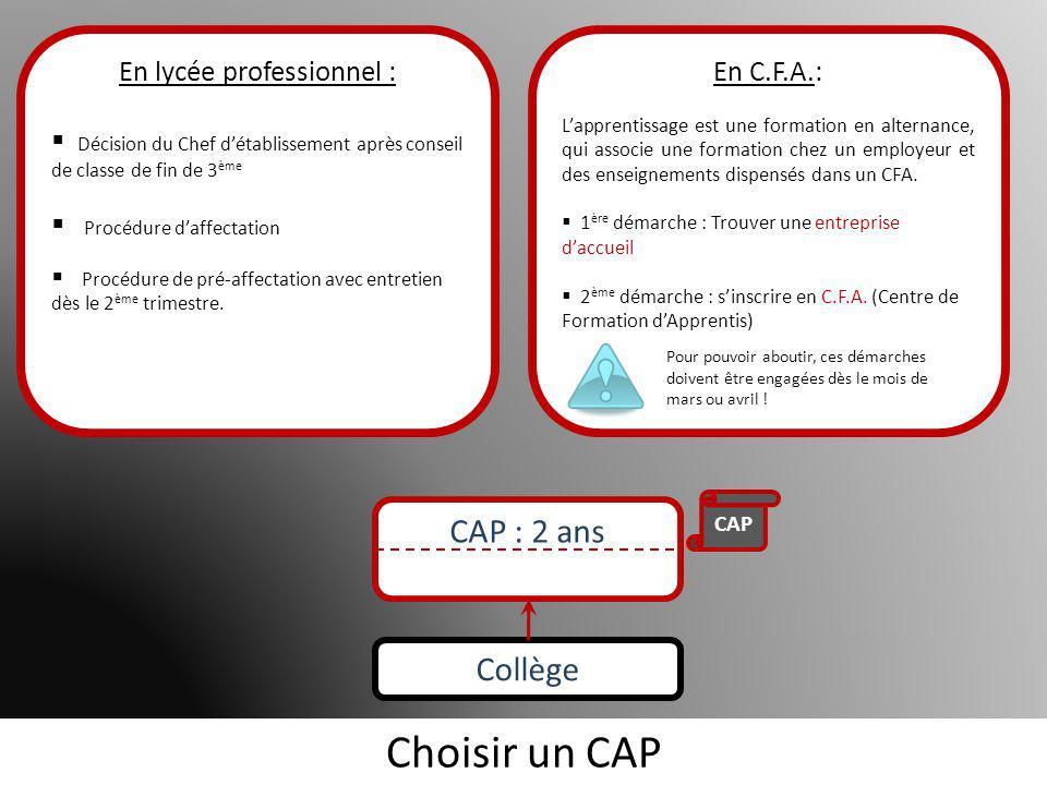 Les formations proposées par chaque lycée Gourdou-LeseurreD ArsonvalMansartCondorcetBerthelot Agent de maîtrise Escaliéteur Cliquez ici pour revenir à la diapositive de départ Formations complémentaires :