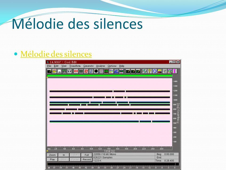 Mélodie des silences