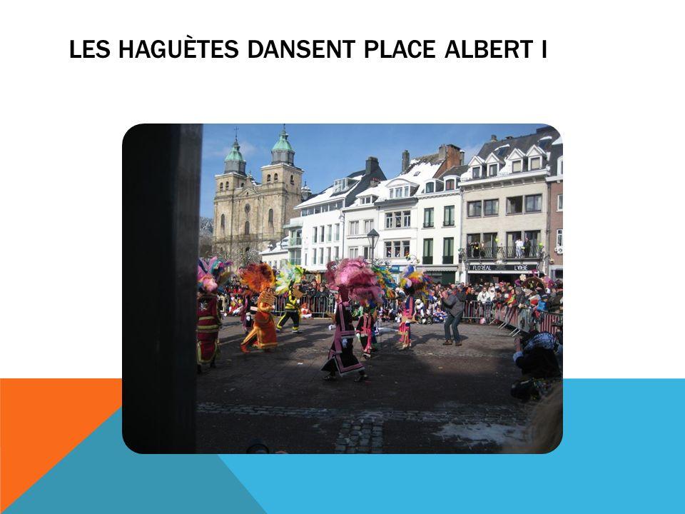 LES HAGUÈTES DANSENT PLACE ALBERT I