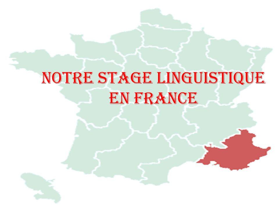 Notre stage linguistique en France