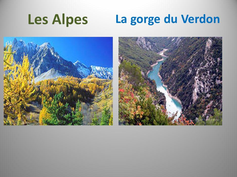 Les Alpes La gorge du Verdon