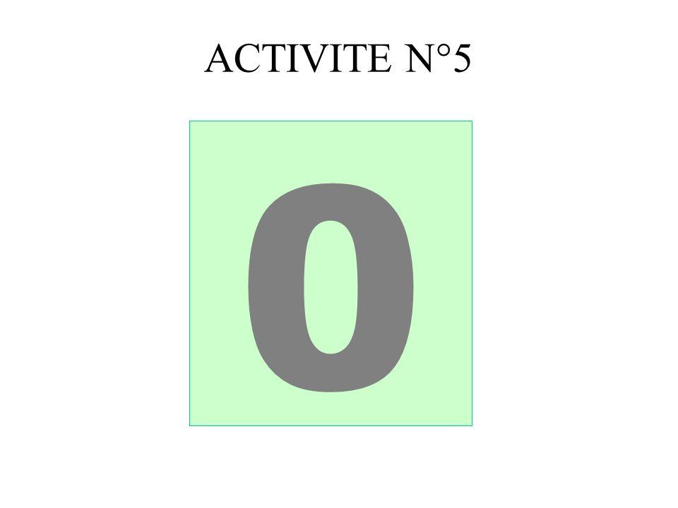 ACTIVITE N°5 543210