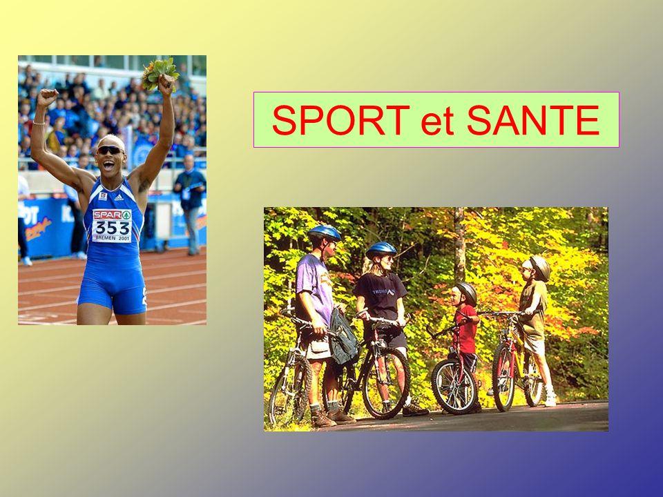 OU Sport OU Santé OU Sport OU Activité Physique Un peu de philosophie…