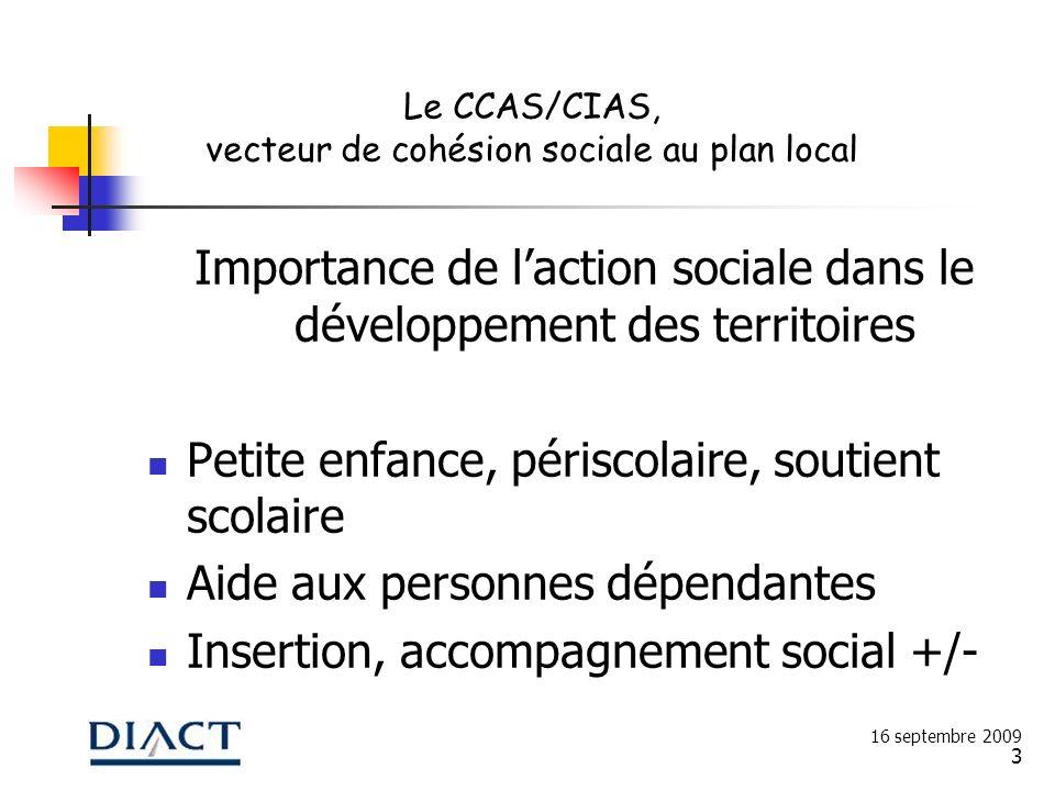 3 Importance de laction sociale dans le développement des territoires Petite enfance, périscolaire, soutient scolaire Aide aux personnes dépendantes I