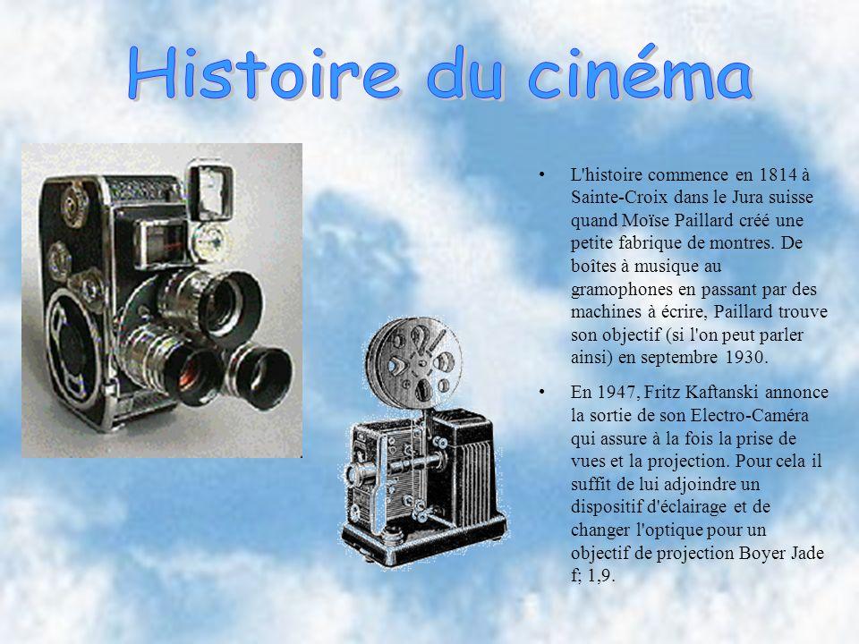 L histoire commence en 1814 à Sainte-Croix dans le Jura suisse quand Moïse Paillard créé une petite fabrique de montres.