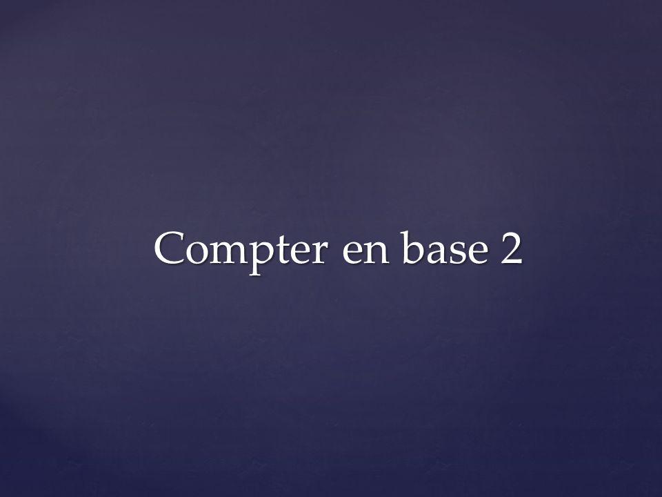 Compter en base 2
