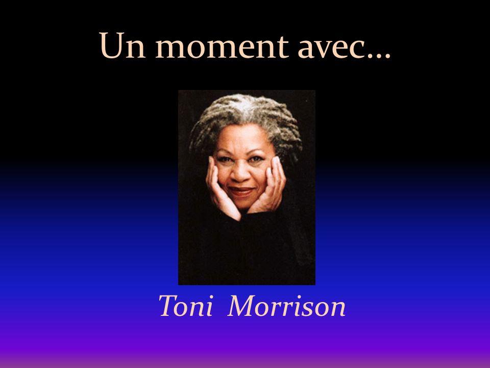 Un moment avec… Toni Morrison