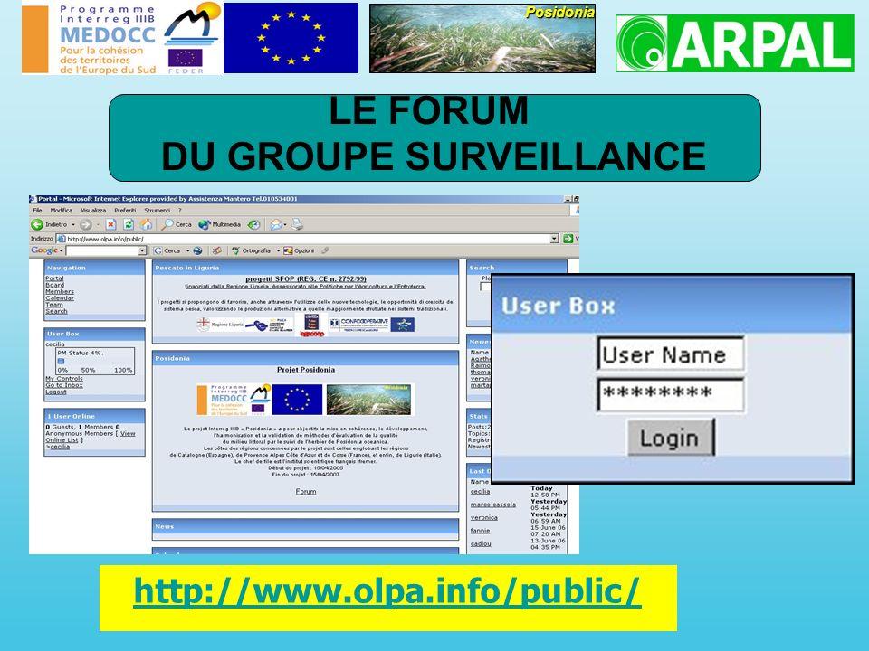 http://www.olpa.info/public/Posidonia LE FORUM DU GROUPE SURVEILLANCE