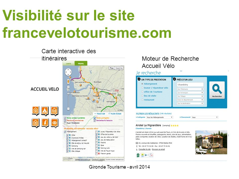Gironde Tourisme - avril 2014 Merci de votre attention .