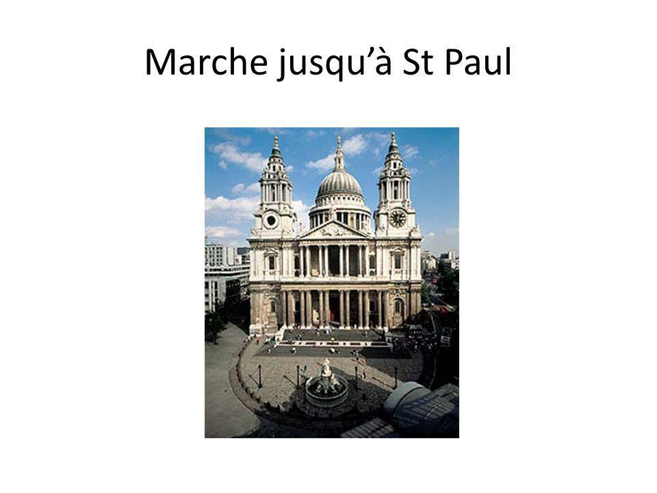 Marche jusquà St Paul