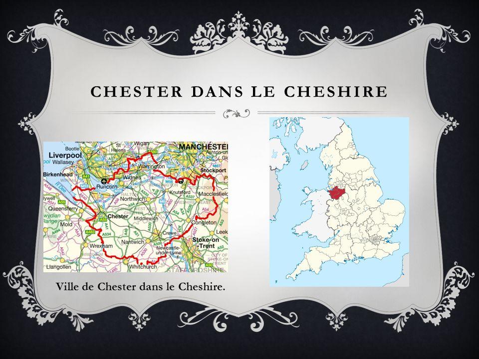 CHESTER DANS LE CHESHIRE Ville de Chester dans le Cheshire.