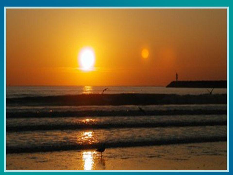Au contraire, Seigneur, fais que calmement je remplisse mes journées, comme la mer lentement recouvre toute la grève.