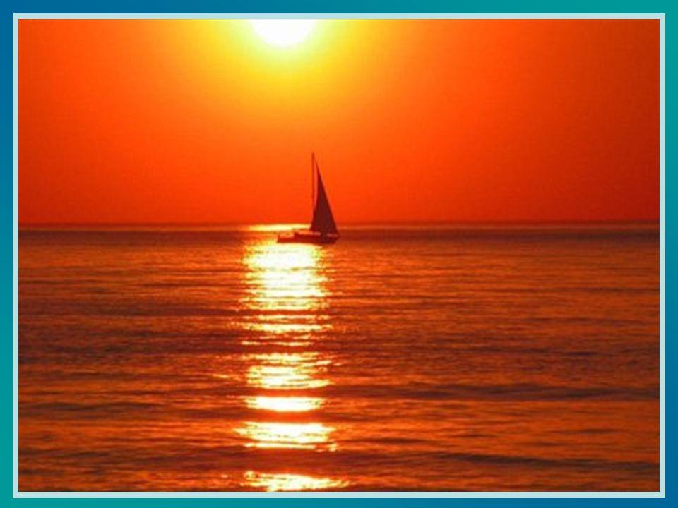 Illumine ma vie comme les rayons de ton soleil font chanter la surface des eaux.
