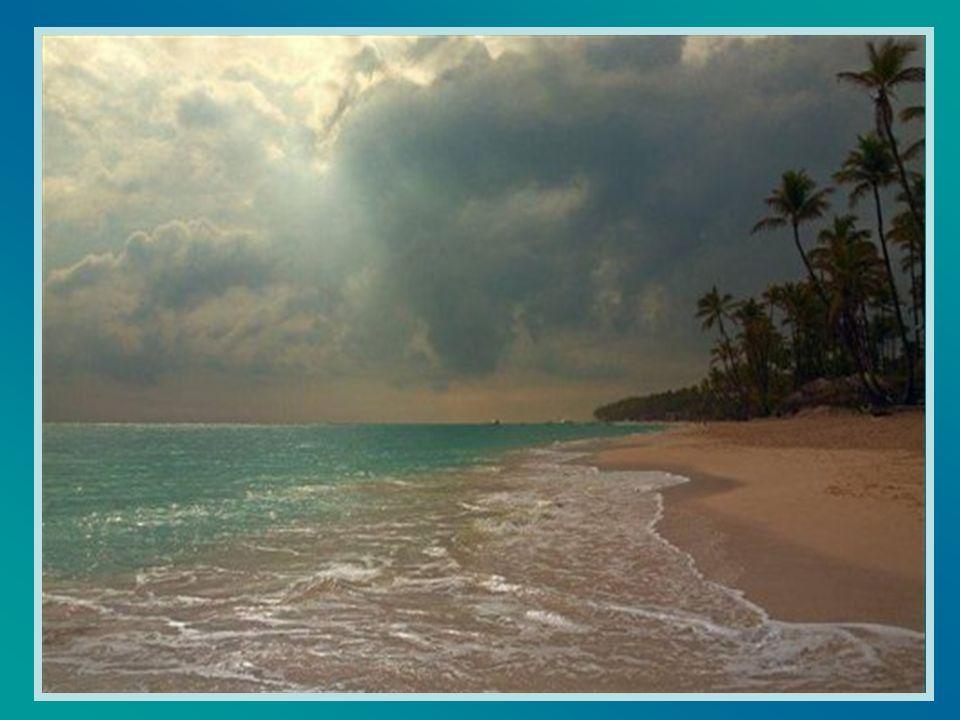 J ai vu, l autre jour, la mer calme et sereine.