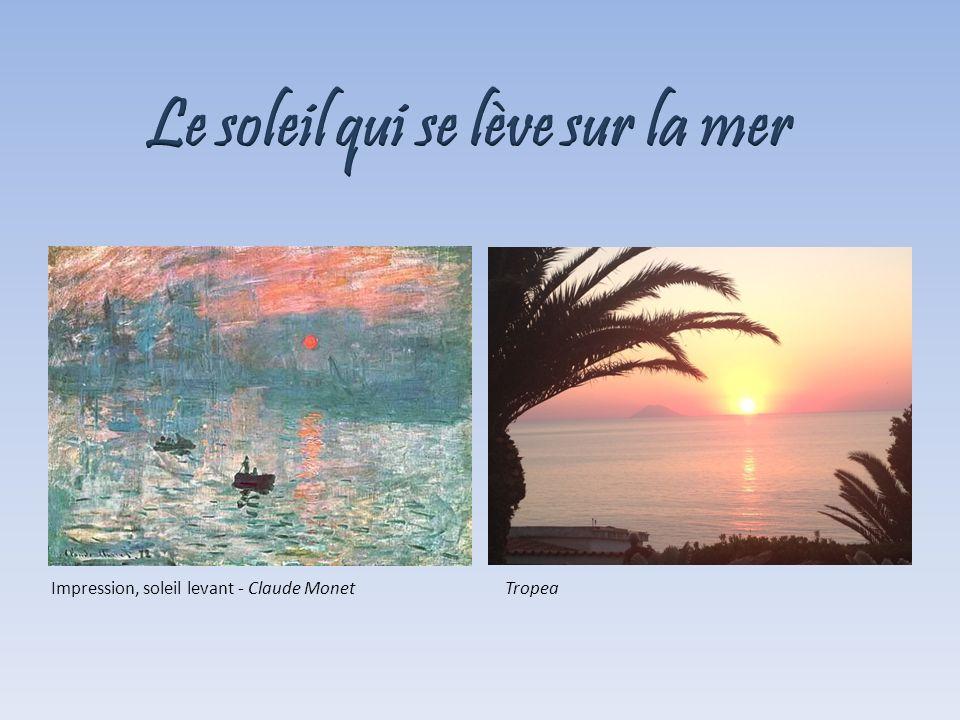 TropeaImpression, soleil levant - Claude Monet