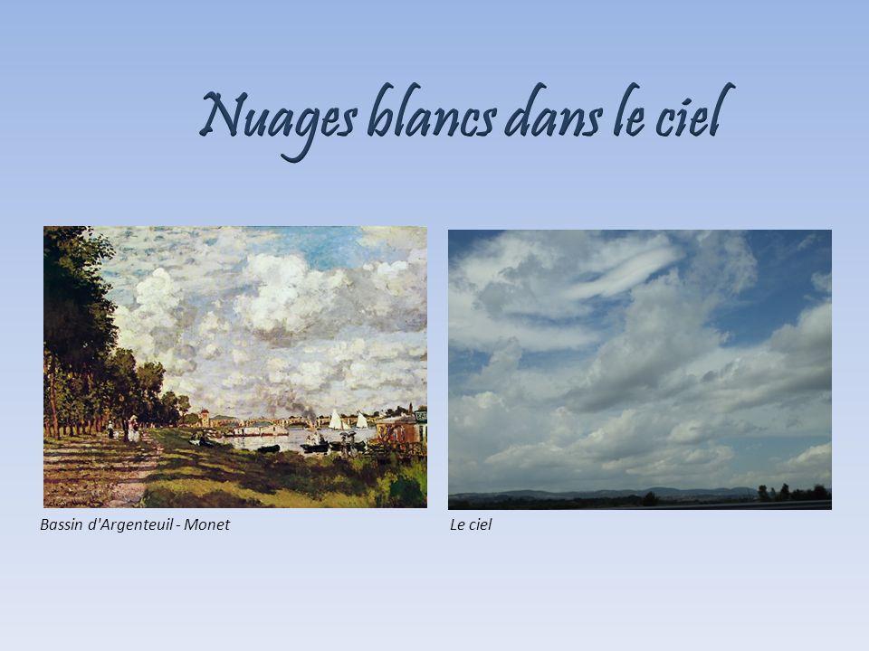 Bassin d'Argenteuil - MonetLe ciel