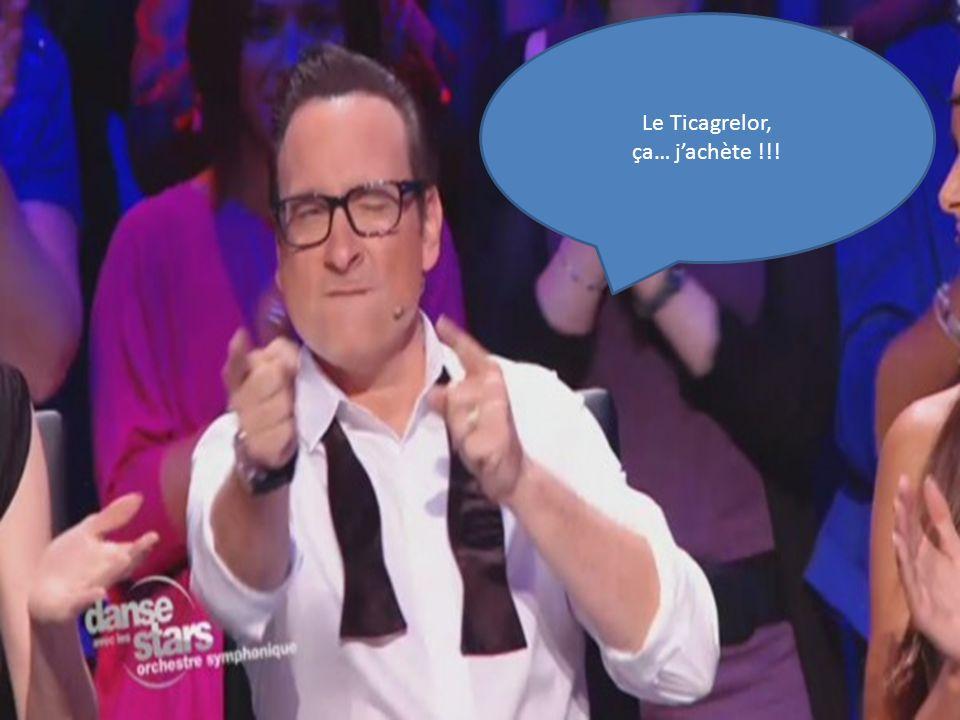 Le gagnant est ? Le Ticagrelor, ça… jachète !!!