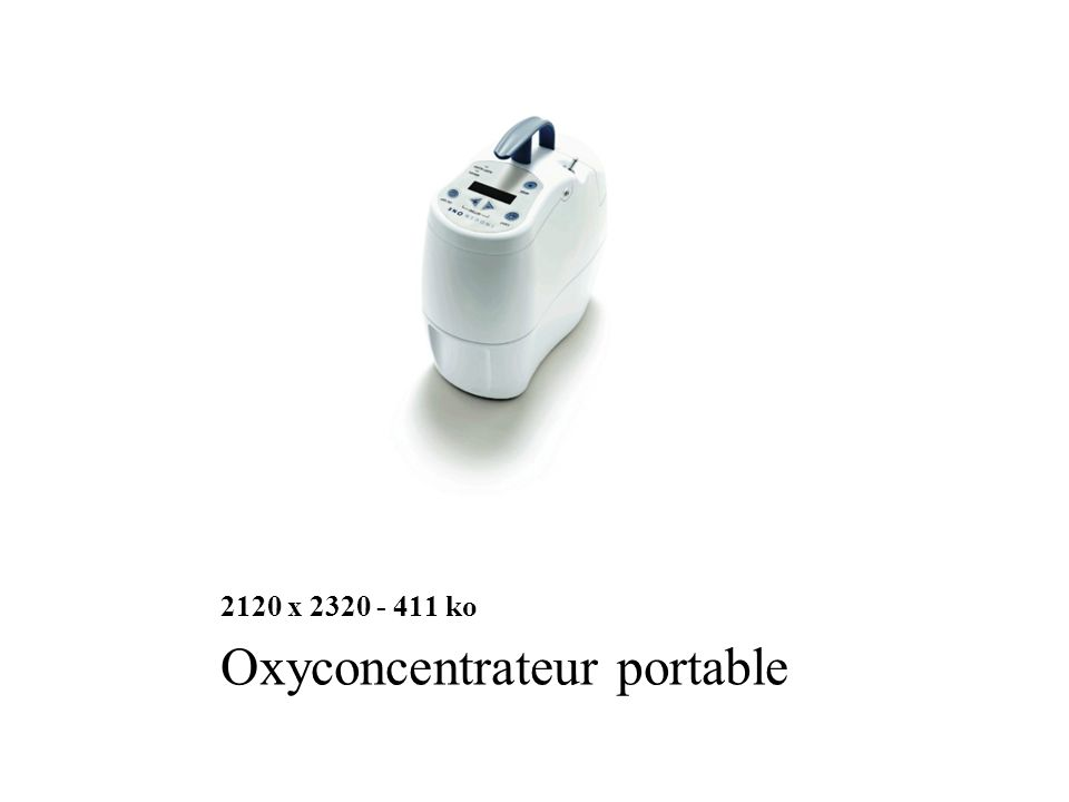 2120 x 2320 - 411 ko Oxyconcentrateur portable