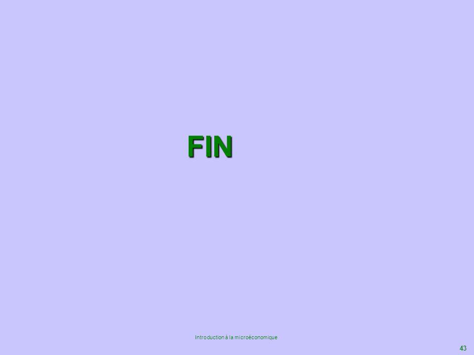 43 Introduction à la microéconomique FIN