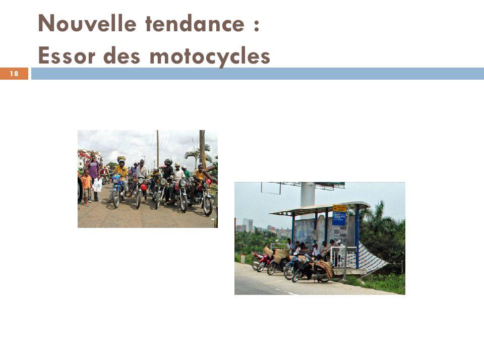 Nouvelle tendance : Essor des motocycles 18