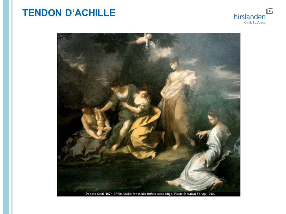 TENDON DACHILLE