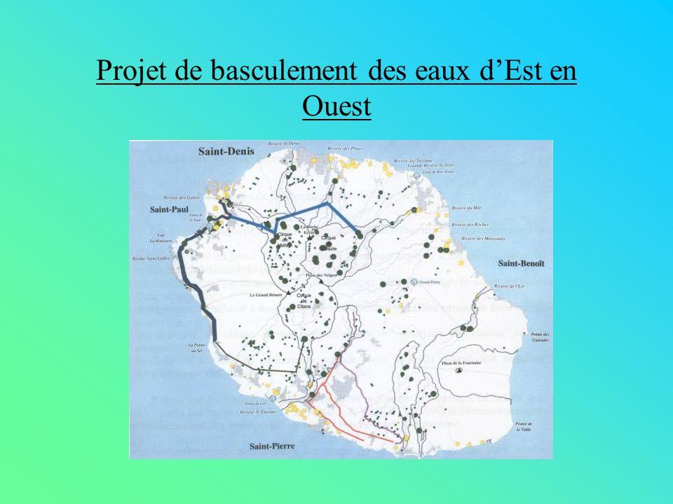 Projet de basculement des eaux dEst en Ouest