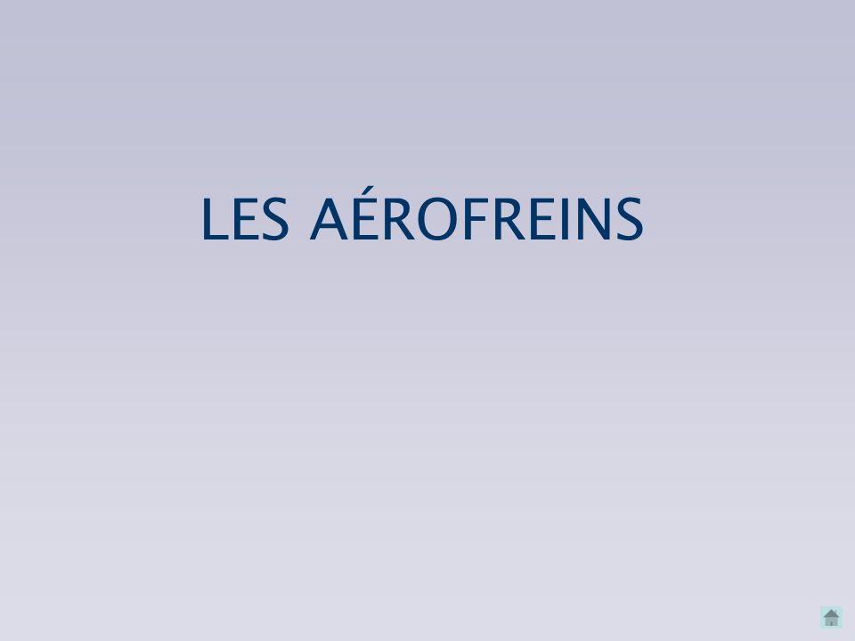 LES AÉROFREINS LES AÉROFREINS CONNAISSANCES INDISPENSABLES MODIFICATION DE TRAJECTOIRE À VITESSE CONSTANTE MODIFICATION DE TRAJECTOIRE À VITESSE CONST