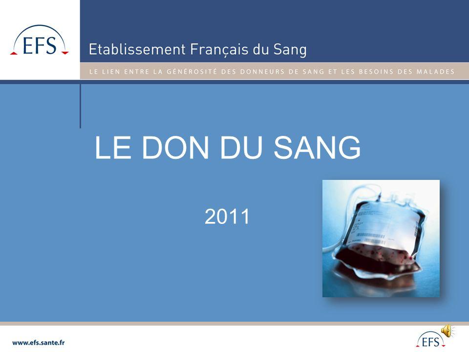 LE DON DU SANG 2011