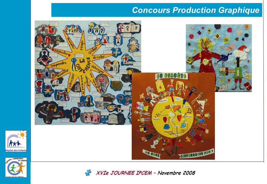 XVIe JOURNEE IPCEM – Novembre 2008 Concours Production Graphique