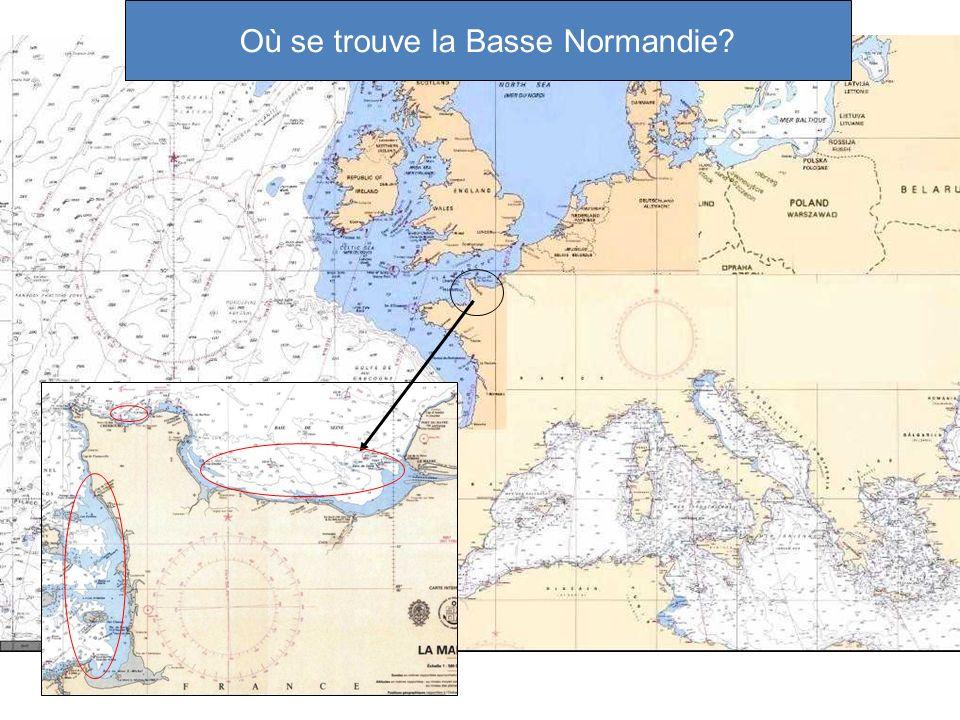 Où se trouve la Basse Normandie?