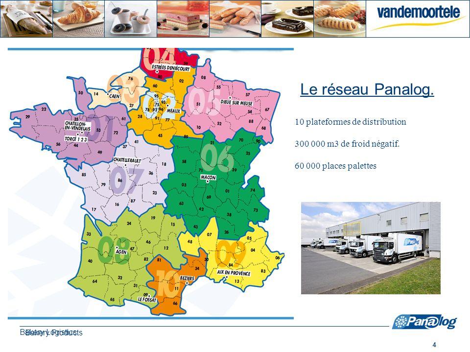 5 Bakery Products Le site de Châtillon en Vendelais Activités –Entreposage : Capacité 10 000 places palettes (doublé en 2012) –Distribution : 9 porteurs –Transferts zone longue : 22 ensembles –Siège social