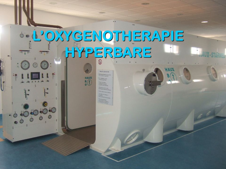 LOXYGENOTHERAPIE HYPERBARE