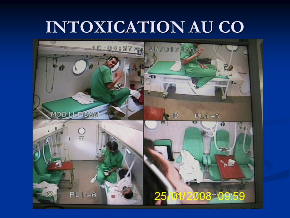 INTOXICATION AU CO