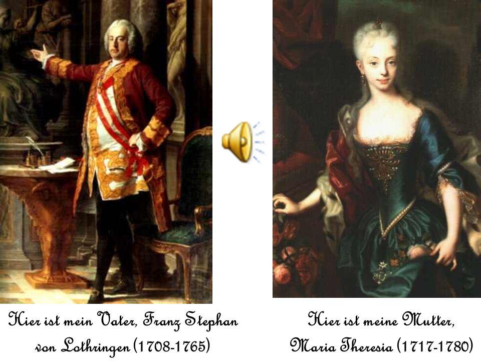 Guten Tag! Ich heisse Maria Antonia. Ich war in Wien, Österreich der 2 November, 1755 g eboren. Ich lebe jetzt in Schloß Schönbrunn in Wien. Ich bin z