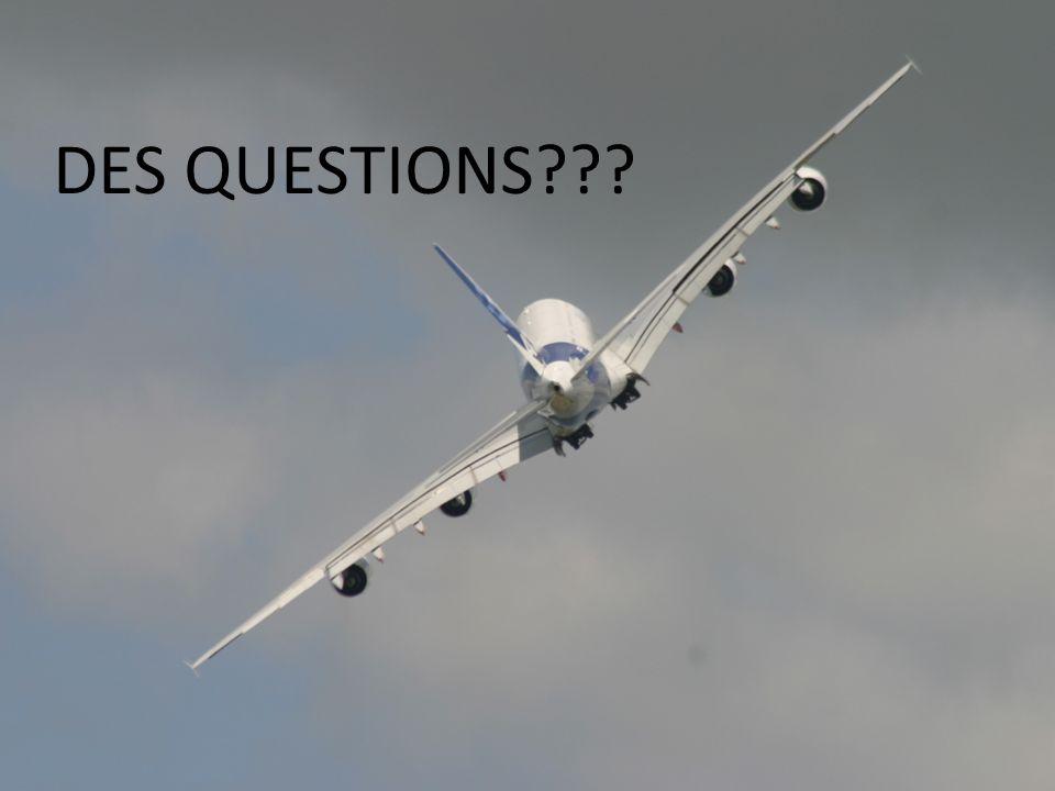 DES QUESTIONS???