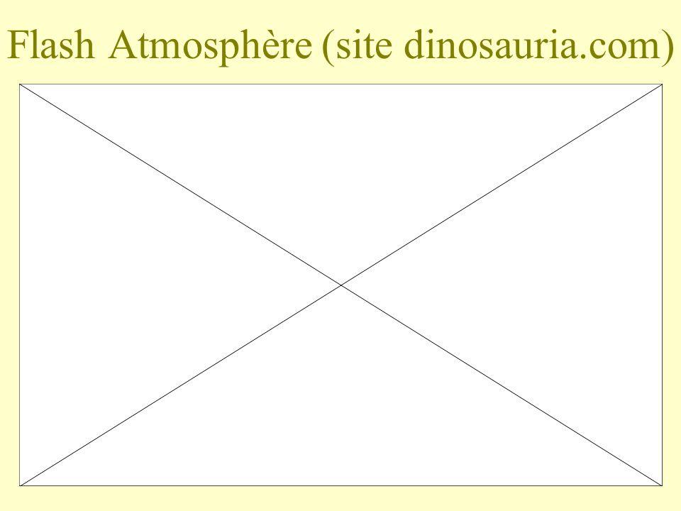 Flash Atmosphère (site dinosauria.com)