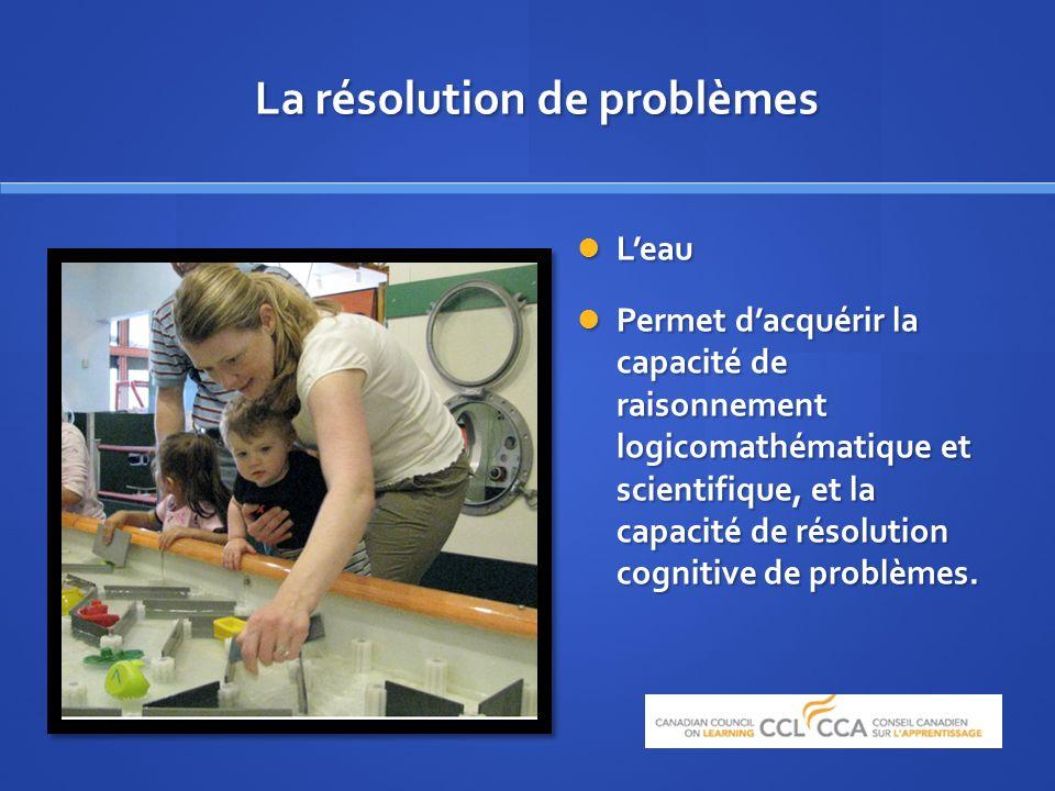 Leau Leau Permet dacquérir la capacité de raisonnement logicomathématique et scientifique, et la capacité de résolution cognitive de problèmes.