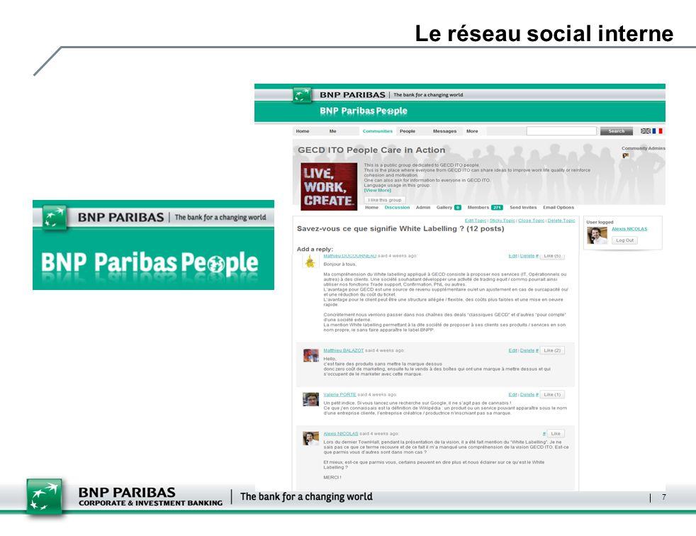 Le réseau social interne 7