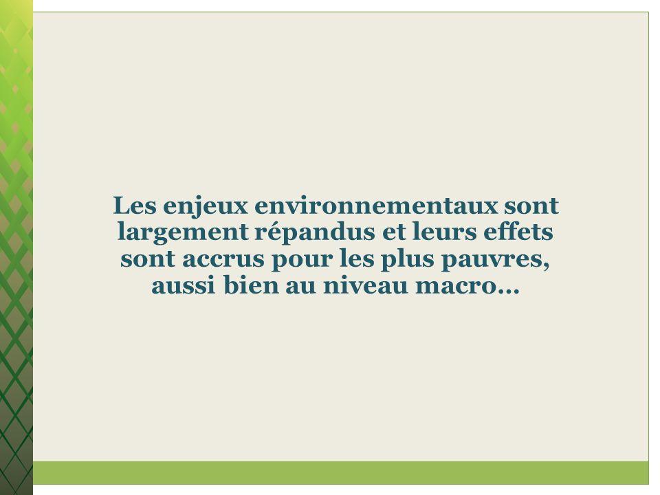 Promouvoir le développement humain doit saccompagner de la promotion de la durabilité.