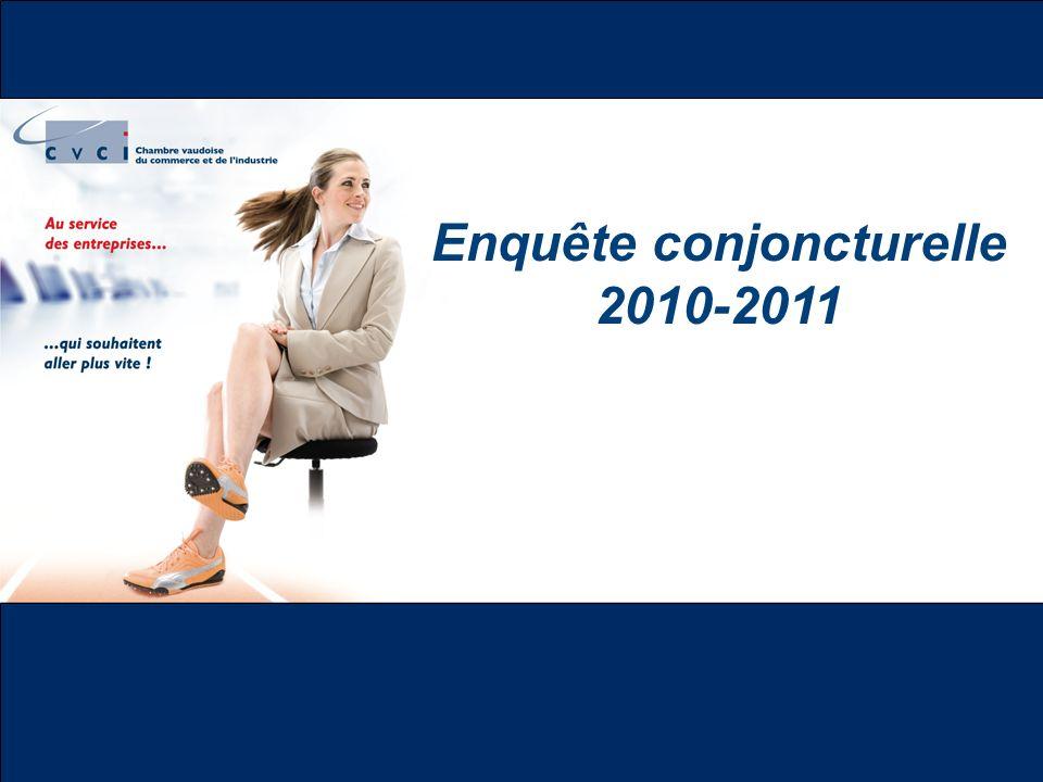 Enquête conjoncturelle 2010-2011