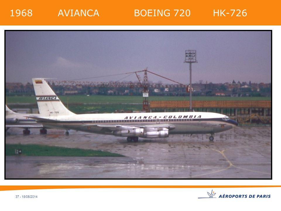 37 - 18/05/2014 1968 AVIANCA BOEING 720 HK-726
