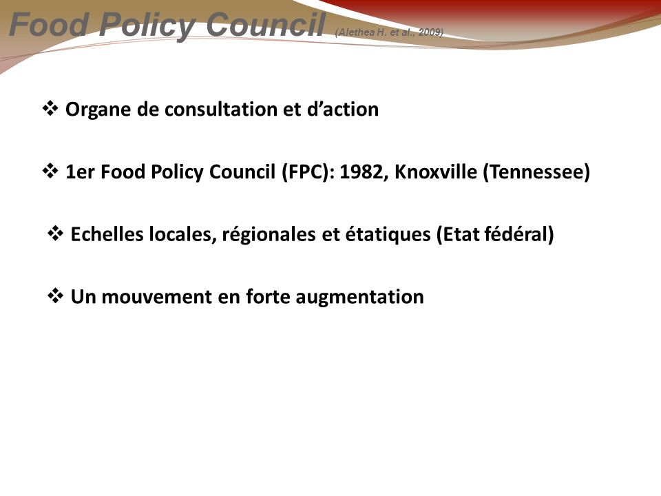 Food Policy Council (Alethea H.